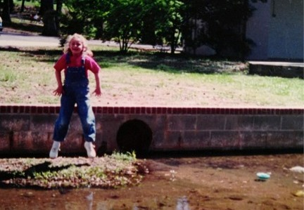 The moment Sydney's interest in water resources began in Monkey Park, Opelika!