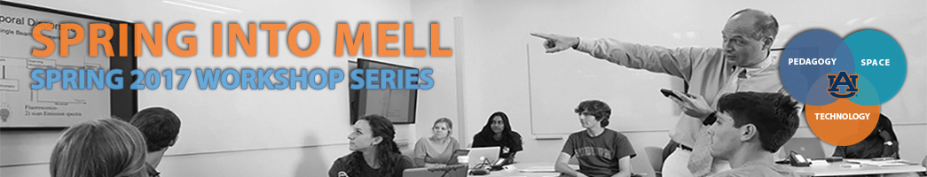 Spring into Mell workshop series