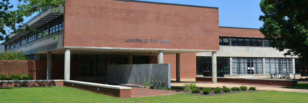 James E. Foy Hall, located off the Thach concourse
