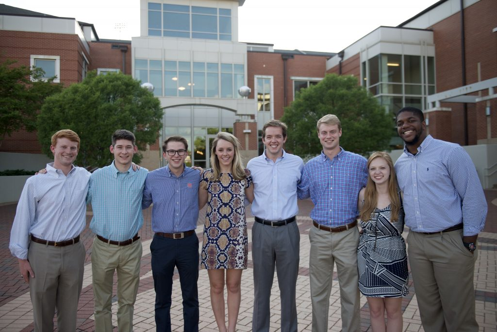 Photo of SGA executive officers.