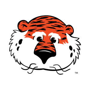Graphic of Aubie the Tiger.