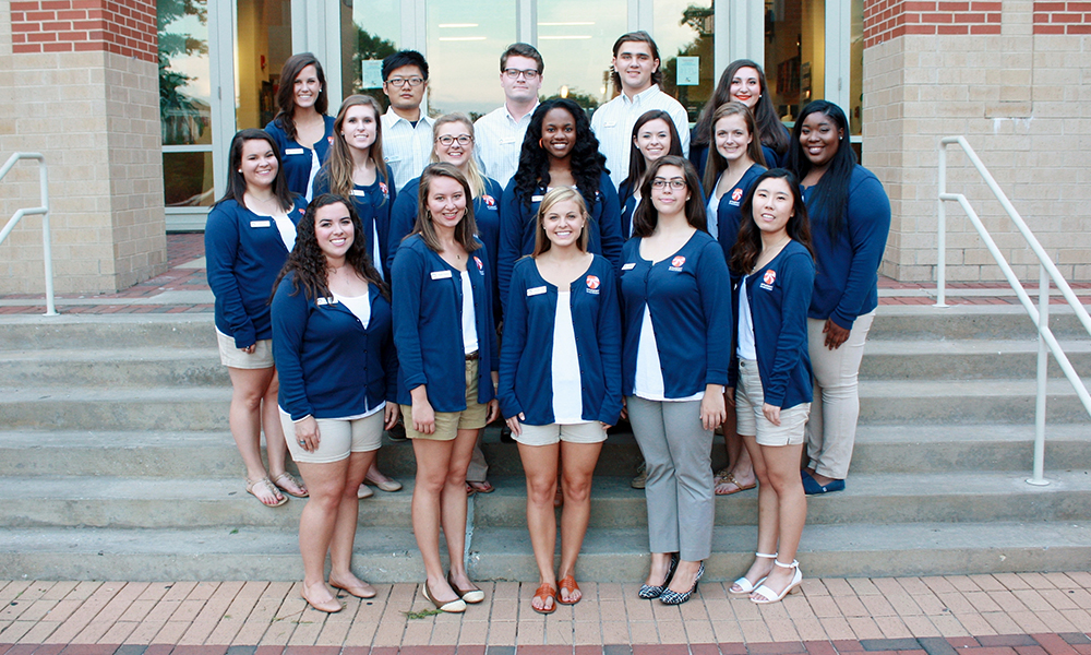 Photo of Involvement Ambassadors.