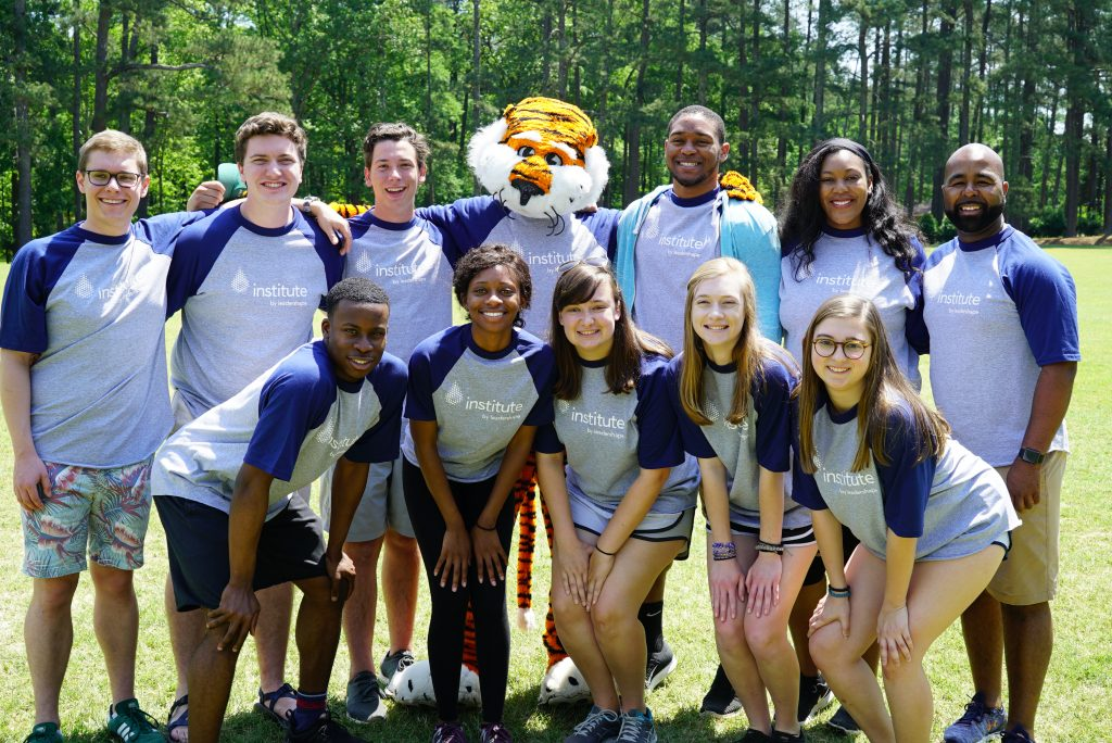 Students participating in LeaderShape 2018.
