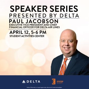 Paul Jacobson Delta Speaker Series