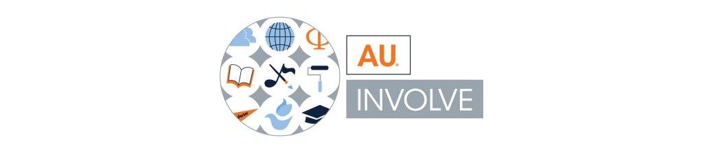 AUinvolve logo with link to website