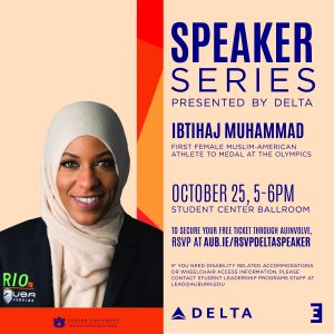 Delta October Speaker Graphic