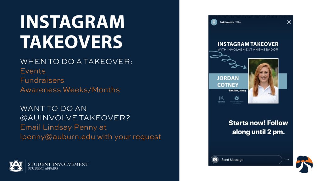 Instagram Takeovers