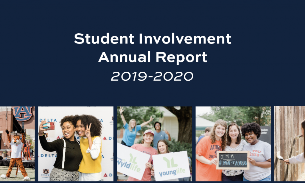 Click to view the Student Involvement Annual Report 2019-2020