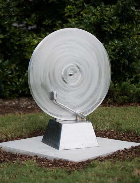 Aaron Hussey (Louisiana, b. 1963) L.P. , 2013 Stainless steel