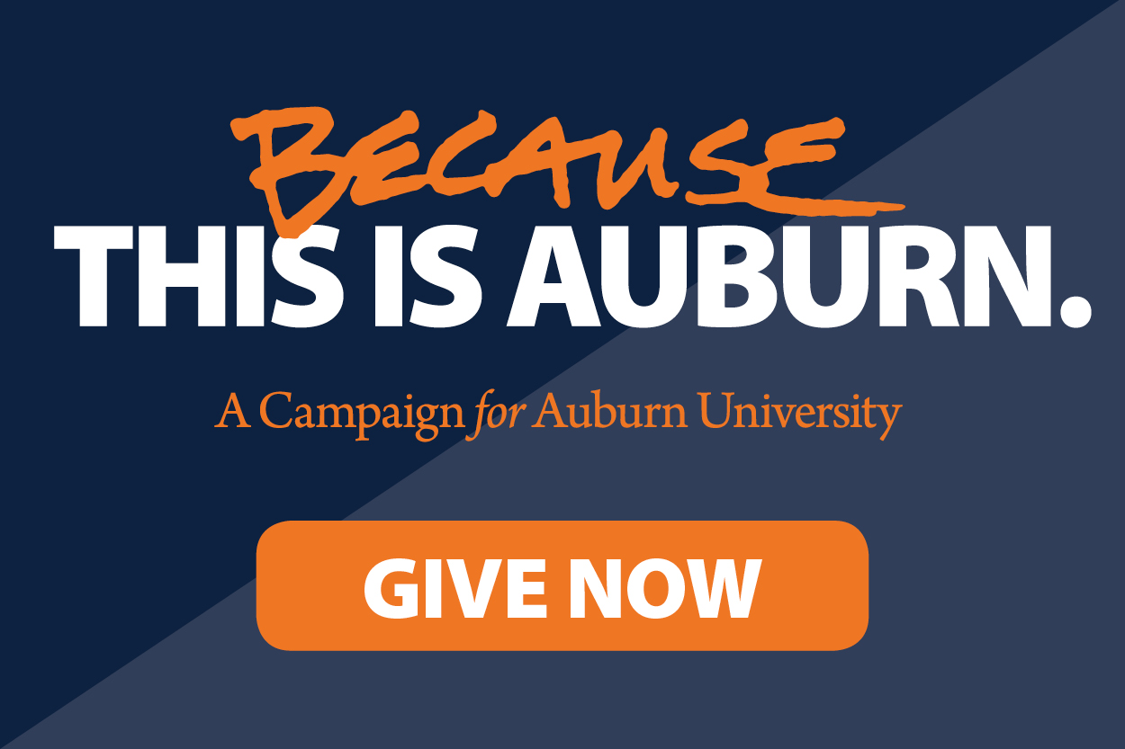 Campaign Logo for Because This is Auburn