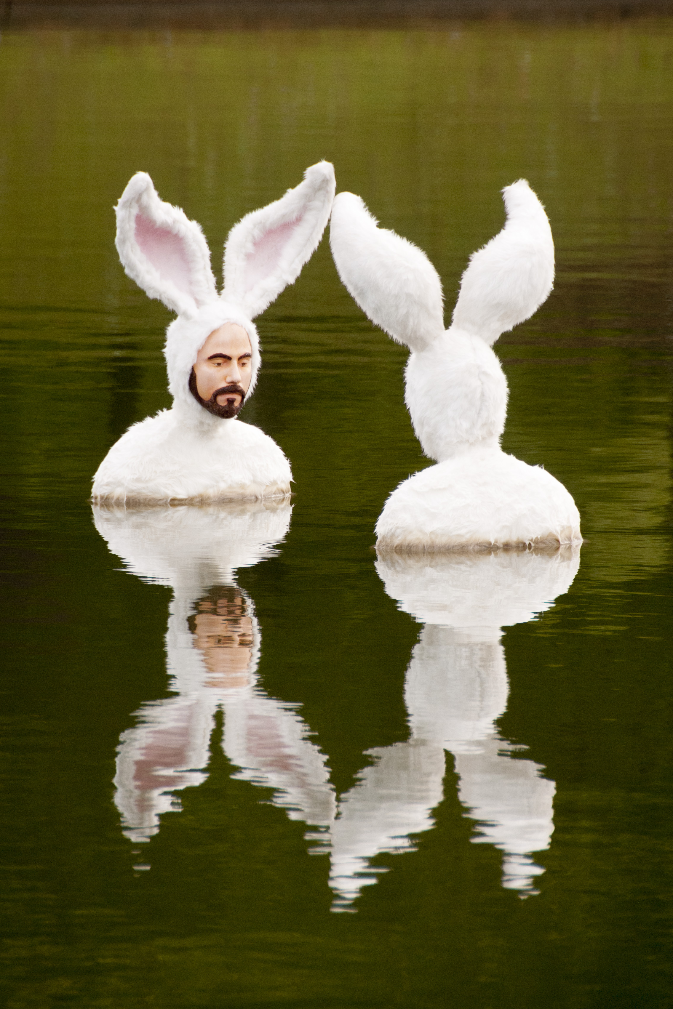 Self-Portrait as Bunnies by Alex Podesta
