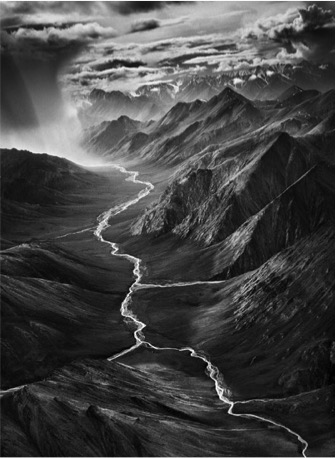 Sebastião Salgado (Brazilian, b. 1944) Brooks Range, Alaska  Courtesy of Yancey Richardson Gallery