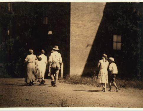 Lewis Hine (American, 1874–1940) Opelika, Alabama, Oct. 1914 Vintage gelatin silver print Courtesy of Robert Mann Gallery