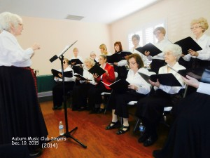 Auburn Music Club Singers
