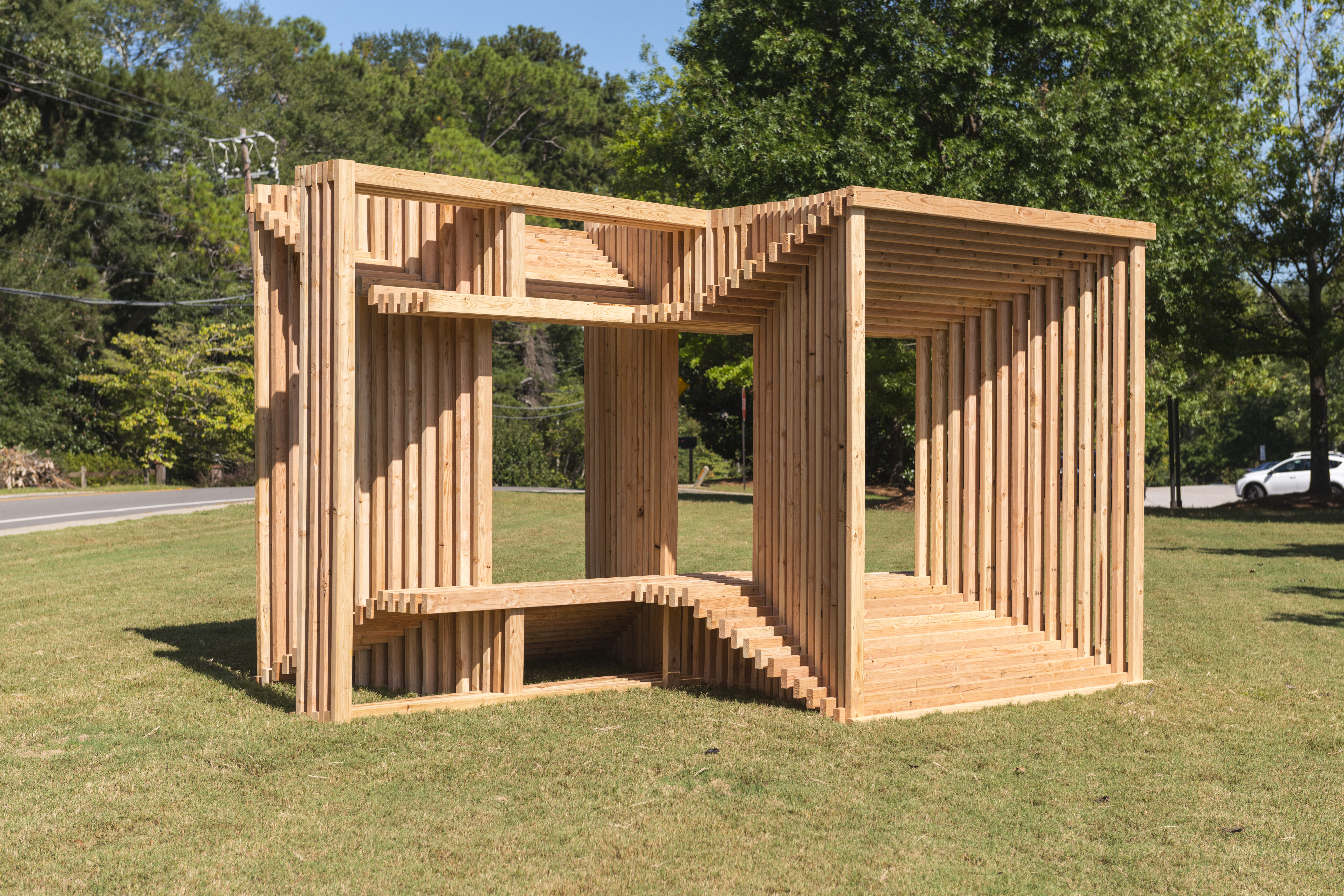 Out Of The Box: A Juried Outdoor Sculpture Exhibition 2017
