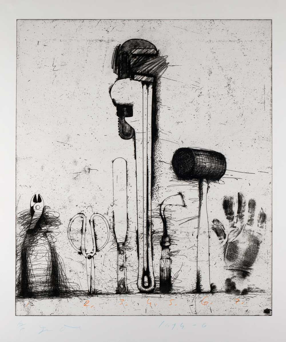 Collection Spotlight: Jim Dine | Jule Collins Smith Museum of Fine Art