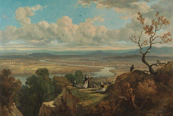 Landscape depicting Massachusetts