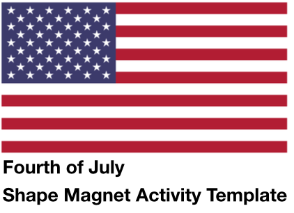 Forth of July Magnet Art Activity post image