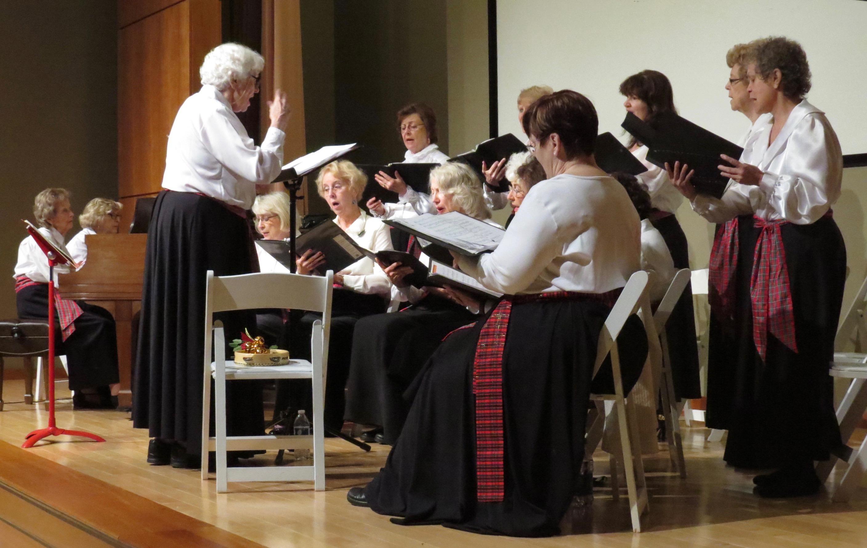 Auburn Music Club Singers. Photo credit Patrick McCurry.