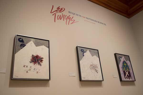 Installation of Leo Twiggs at Auburn