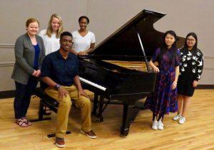 Auburn University Piano Studio, Spring 2018