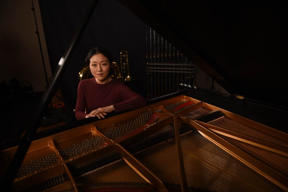 "Pianist Byul Nim ""Bea"" La. Photo Credit: Auburn University Photographic Services"