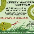 Creepy Wonderful Critters – Venomous Snakes