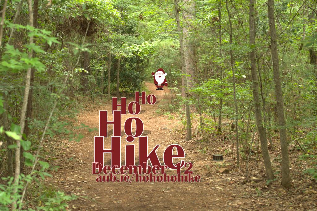 HoHoHo Hike - December 12 aub.ie/hohohohike