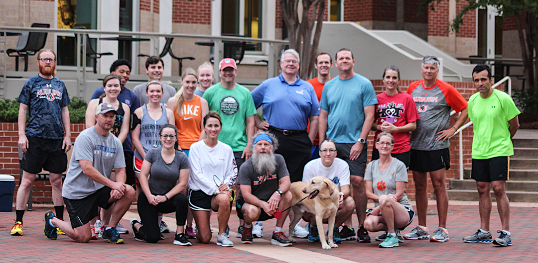 Dr. Doug and the Camp War Eagle Parent Run