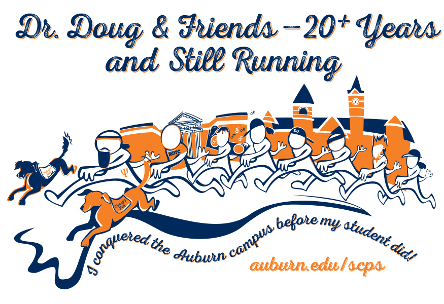 Camp War Eagle t-shirt artwork
