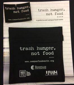Trash Hunger, Not Food